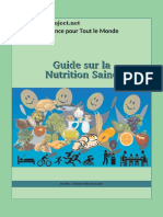 Guide Sur La Nutrition Saine-Eidos-Project