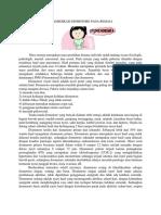 Swamedikasi Pms Dan Dismenore Pada Remaja