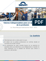 19.- Valores Indispensables Para El Ejercicio Etico de La Profesion - Imagen Objetivo Del Alumno Senatino
