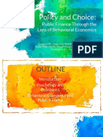 Policy and Choice (Fernandez and Martinez)