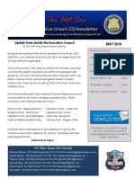 DCPU - CID Newsletter - May 2018