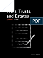 Wills Trusts and Estates Sample