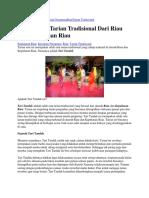 HomeKepulauan RiauKesenian NusantaraRiauTarian Tradisional