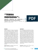 CAVALCANTE, Thiago Leandro Vieira. 'Terra Indígena' - Aspectos históricos da construção e aplicação de um conceito jurídico.pdf