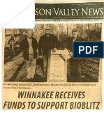 Winnakee Receives Funds from AT&T to Support BioBlitz