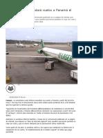 Laser Airlines Reanudará Vuelos a Panamá El Próximo Lunes