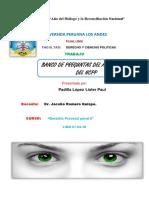 Banco de Preguntas de Acuerdo Al Nuevo Código Procesal Penal