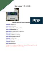 Cardioversor HP43100