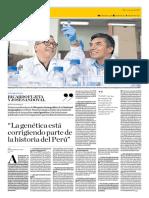 La Genética Está Corrigiendo Parte de La Historia Del Perú