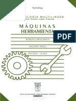 Máquinas Herramienta. Terminología Multilingüe (Español, Alemán, Inglés, Francés).pdf