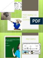 Past Simple vs Past Continuous Copia