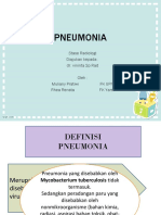 Radiologi Pneumonia