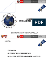 """GEODESIA I FUNDAMENTOS DE GEODESIA"""