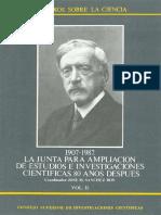 José Manuel Sánchez Ron_La Junta para Ampliación de Estudios en Investigaciones Científicas. 80 Años Después. 1907-1987. Vol II.pdf