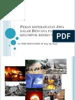 15. Peran Perawat Jiwa Dalam Penanggulangan Bencana
