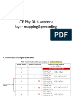4 Ant DL MIMO LayerMappingPrecoding