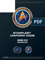 Starfleet Uniform Code 2410