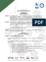 Reglamento Copa 2018