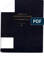 Manual de Laboratorio de Suelos en Ingenieria Civil de Joseph Bowles