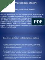 Ppt. m. Comparatiilor Perechi