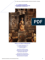 El Camino de Maria . Edición Especial_ Virgen de Monserrat, Patrona de Cataluña . 27 de Abril