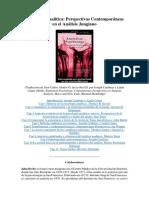 Psicología Analítica Perspectivas Contemporáneas en El Análisis Junguiano (1)
