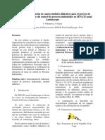 Módulos para la enseñanza de control de procesos industriales