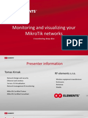 Monitoring your mikrotik network | System Software | Media