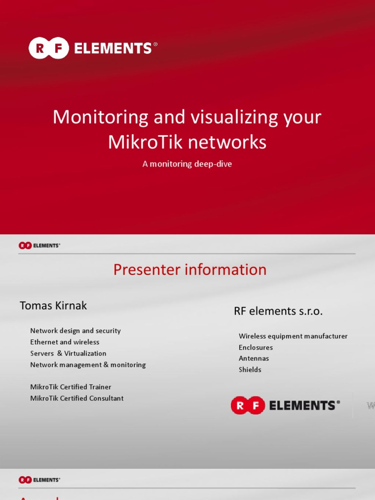 Monitoring your mikrotik network | System Software | Media Technology