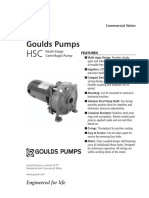 GOULD PUMPS BHSC