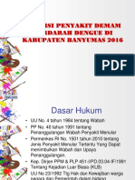 Presentasi Dbd Kab Banyumas 2016