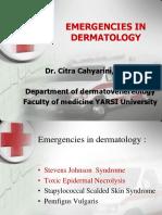 Kulit Emergency in Dermatology