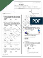 Examen de Fisica 4to