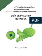 Guía de Práctica Botánica