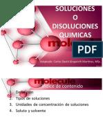 Unidad didáctica 4 Soluciones quimicas