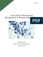 au di major case study histoplasmosis