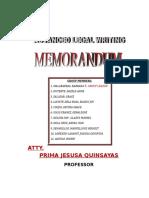 Memorandum Final-CHEENEE