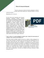 EDUCAÇÃO - Motor Do Desenvolvimento SAVIANI