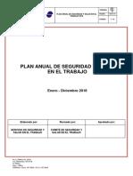6.1 SST – FMR – 02 Plan Anual de Seguridad y Salud en El Trabajo - FARELMARE