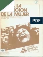 PCE Hacia La Liberación de La Mujer 1976