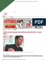 """VIDEO _ Radu Pietreanu, Mesaj DUR Către POLITICIENI_ """"Nu Mai Rezist…"""" - Evz Monden"""