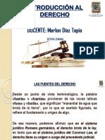 08 Semana - Fuentes Del Derecho