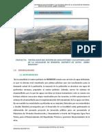 Memoria Descriptiva de Rondoni