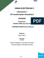 Máquinas Eléctricas Lab 01 b