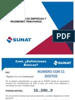 Charla Sobre Formalización de Empresas, Regímenes Tributarios, Infracciones y Sanciones Jp