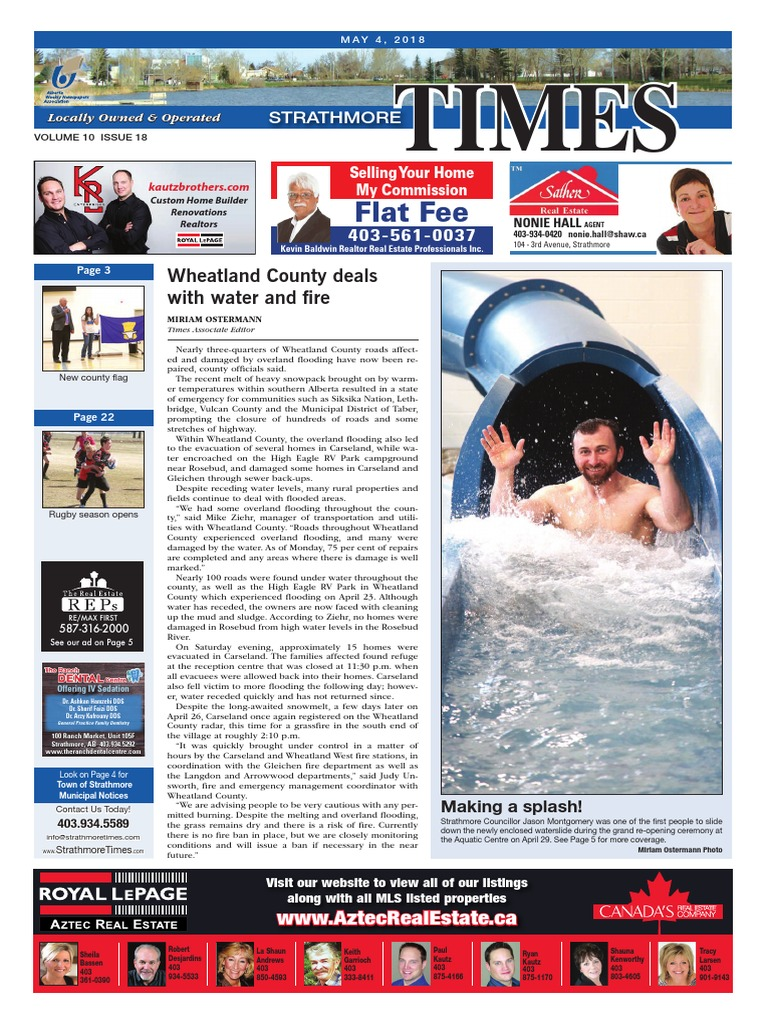 May 4, 2018 Strathmore Times | Business