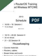 Mikrotik MTCWE Wireless Antiguo