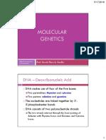BIO20 Molecular Genetics