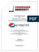 project report on varun beverages limited (pepsico)
