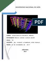 Informe de de Concreto Armado 2017-i PDF